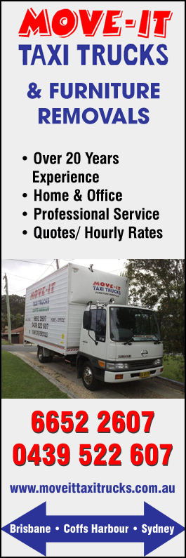 Move-It Taxi Trucks and Furniture Removals