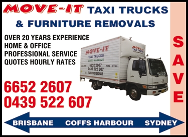 Furniture Removals Coffs Harbour and Interstate