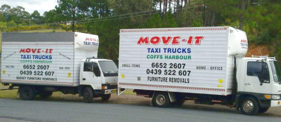 Move-It Taxi Trucks
